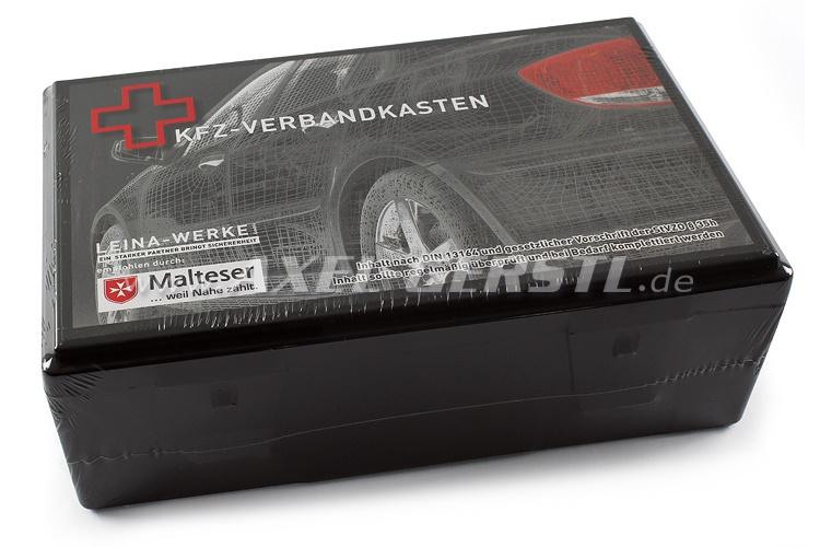 First aid kit, according to German StVO § 35 h