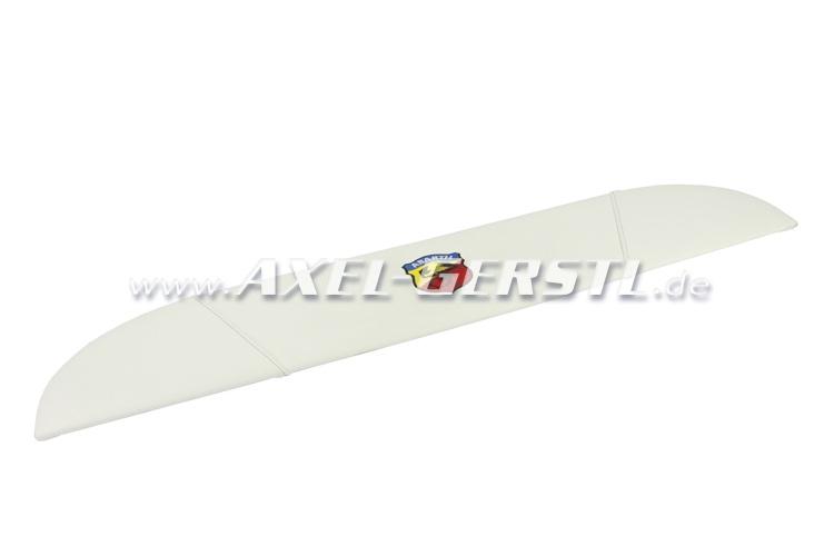 Hatrack ABARTH, white imitation leather cover