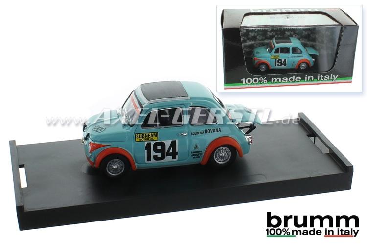 Modellauto Brumm Abarth 595SS, 1:43
