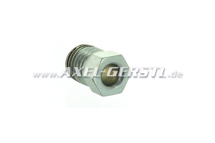 Short nipple for brake lines (screw connection, M10 x 1,25)
