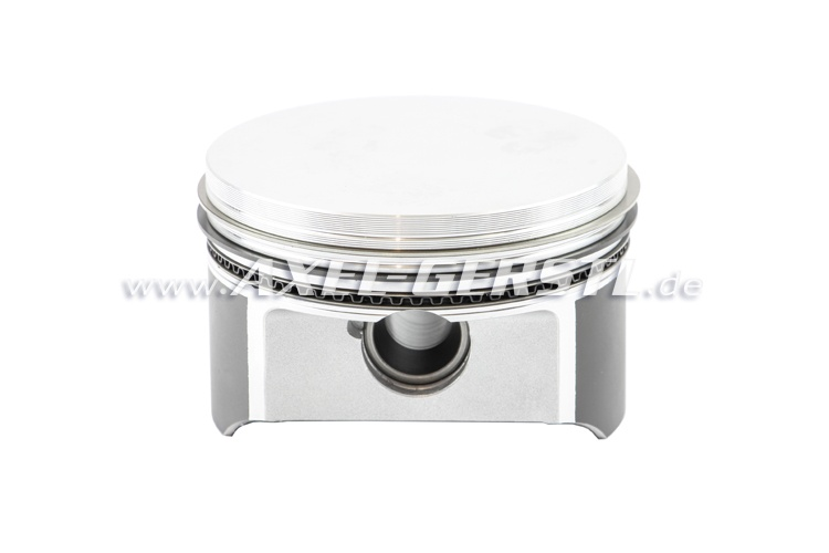 Piston, alu flat 79,5 mm, incl. rings, pins & snap ring