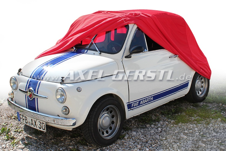 Car cover Star, Polyester, red
