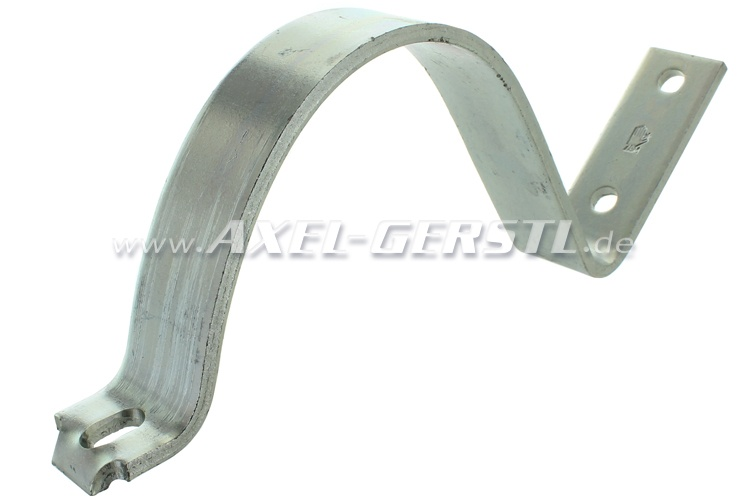 Top exhaust-brackets for oval silencer (polish)
