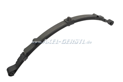 Abarth leaf spring (5 leaves), about 30 mm lower (polish)