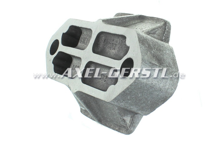 Leaf spring bearing block, alu, height 26 mm / flat version