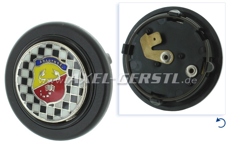 Abarth horn button Corsa