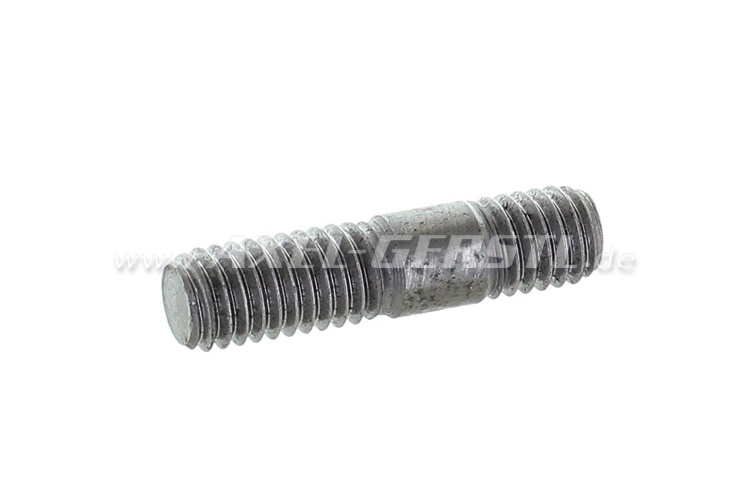 Stud bolt for distributor support