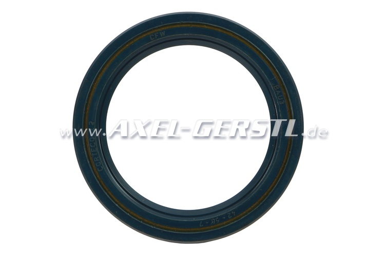 Radial shaft seal for engine, front (timing chain side)