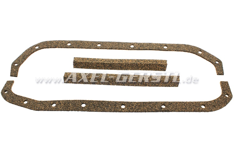 Oil pan gasket, 4 pieces