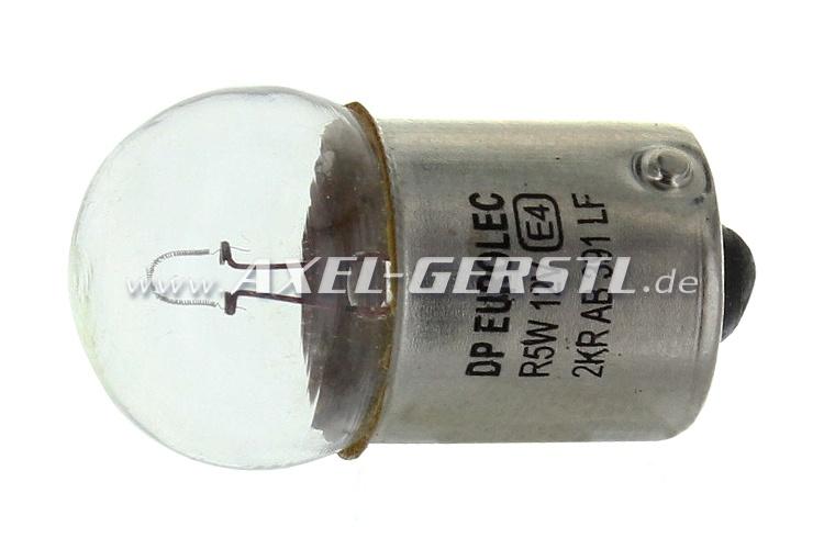 Bulb for registration plate lamp 12V/5 W