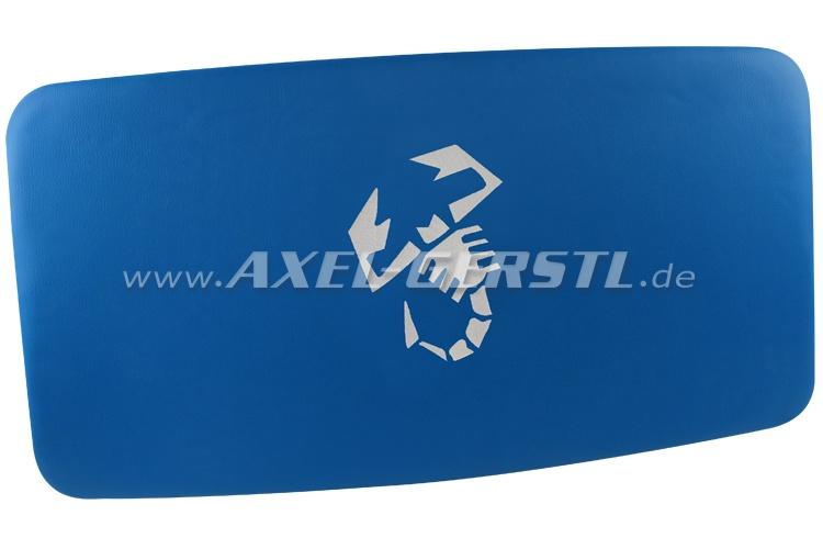 Himmel (Kunstleder bezogen & gepolstert) Skorpion blau/wß.