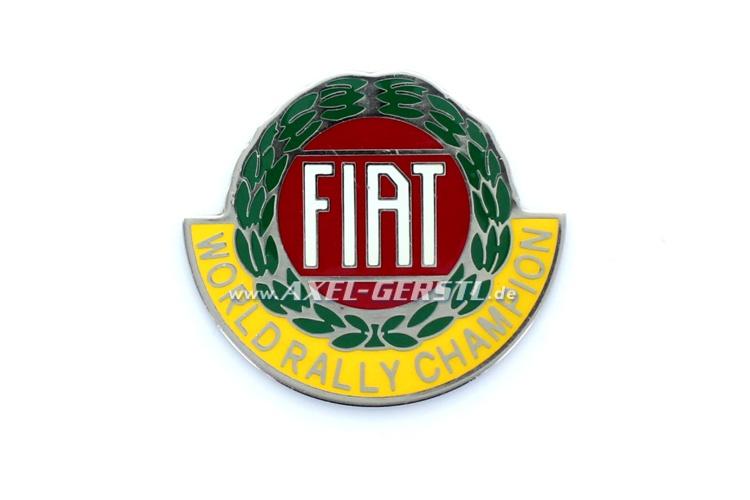 Emblème Fiat World Rallye Champion pour coller