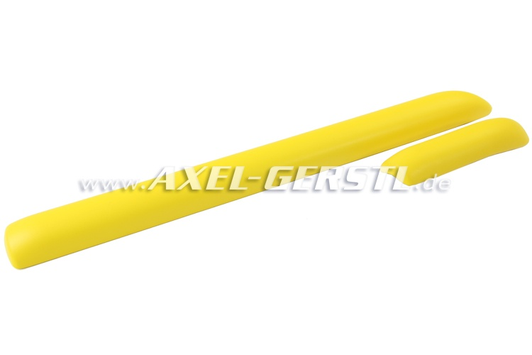 Knieschutzleisten-Satz für Armaturenbrett, gelb