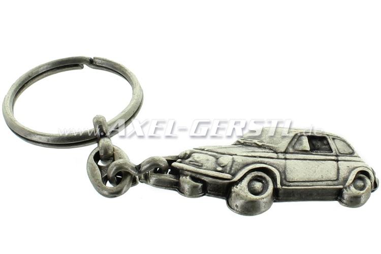 Key fob Fiat 500 Pin, side view