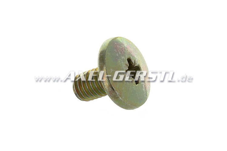 Screw for rear window mounting channel, M6 x 10 mm