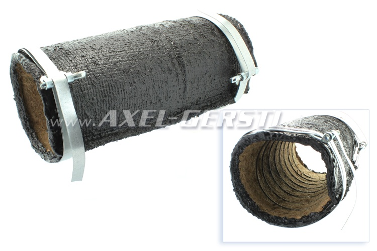 Heater hose (to body/tunnel), similar to original, 200 mm