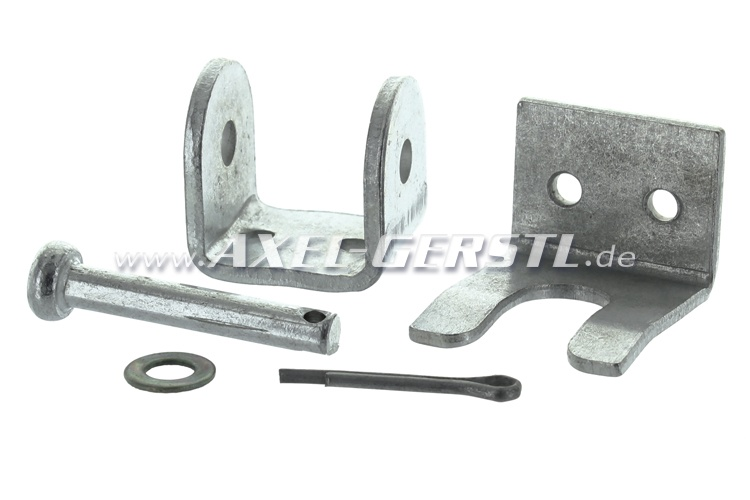 Mounts for hood pin 63 mm, single