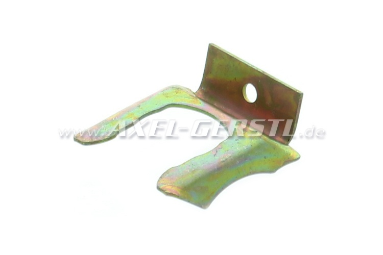 Safety plate for brake hose