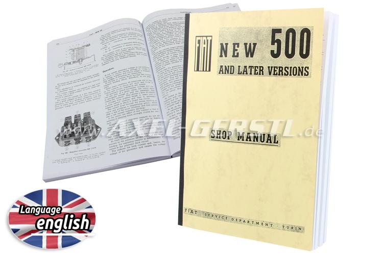 Reparaturhandbuch engl., Kopie gebunden, 392 Seiten DIN A4