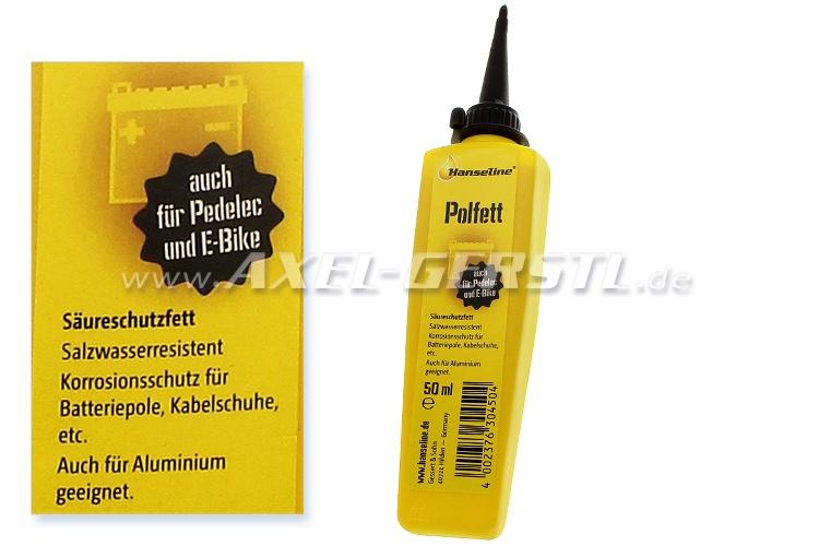Grasso per poli batterie, Hanseline, 50 ml
