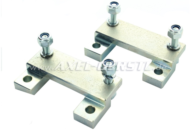 Transverse link offset-/camber- adapterplates 30mm, in pairs