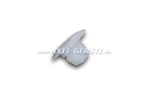 Anchor for plate 4.1 mm, outer diametre 6 x 6mm, transparent