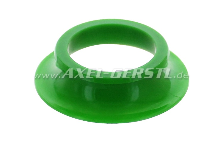 Rubber bearing (green) for engine mounting