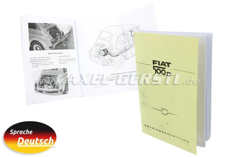 Istruzione per luso, 65 pagine, DIN A5 copiato (tedesco)