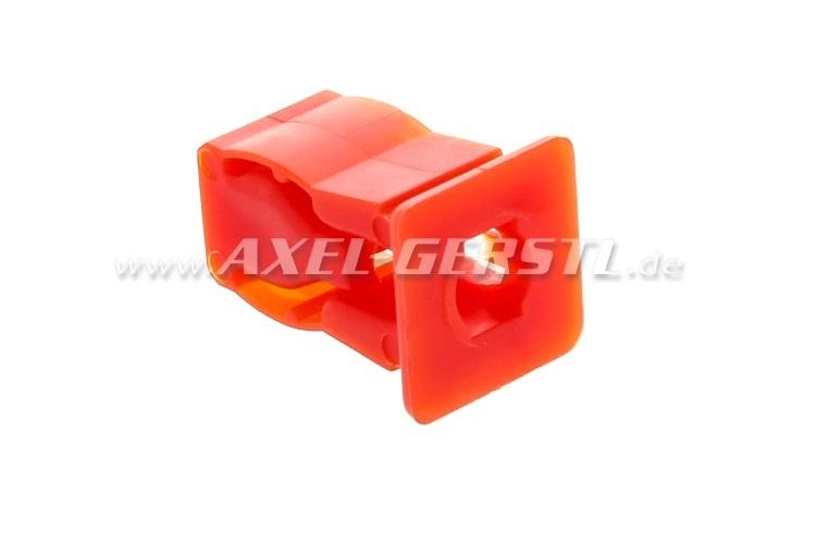 Caviglia per lamiera, 10 mm x 20 mm, rosso o giallo