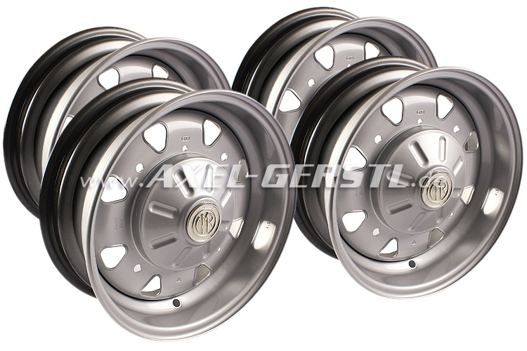 Set of rims 4.5 J x 12 CMR