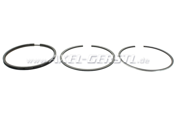 Set of piston rings, oversize 0.8