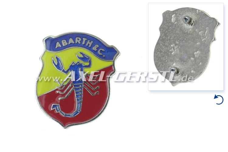 Emblème Abarth 50 mm, à visser