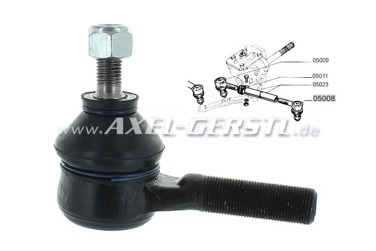 Tie rod end, outer/short, ital. production