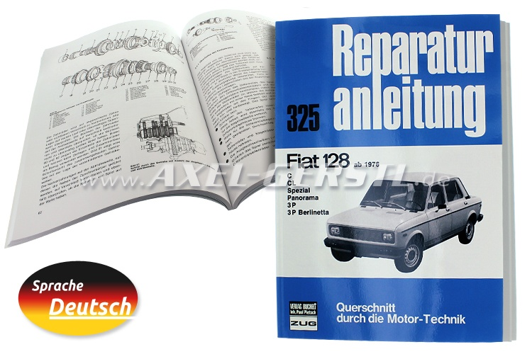 Reparaturanleitung Nr. 325, Orig. Bucheli Verlag, 124 S. A4