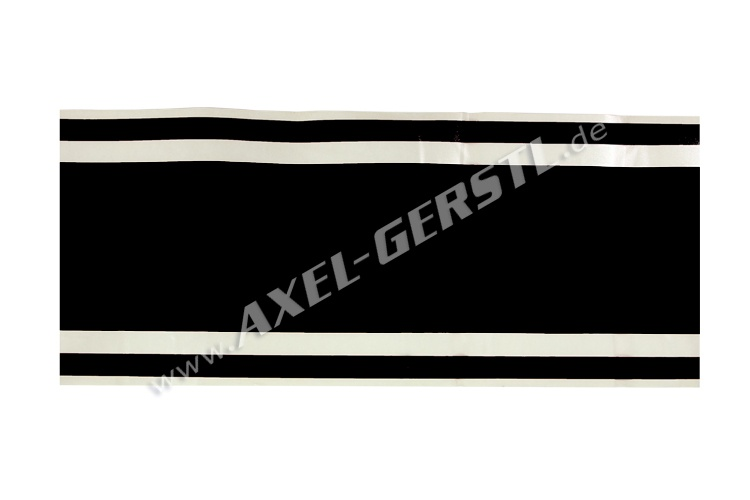 Sticker, black stripe