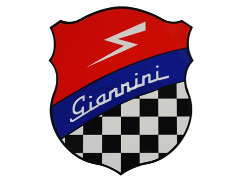 Aufkleber Giannini