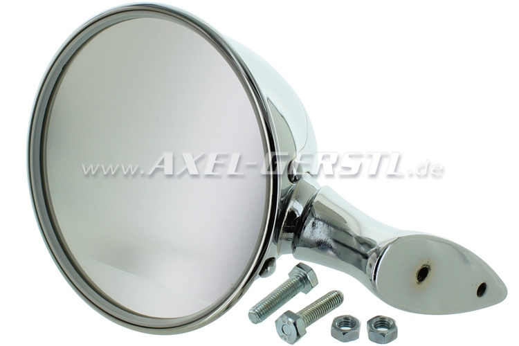 Wing mirror similar to Talbot (repro.), adjustable, chrome