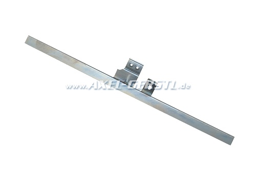 Bottom rail for glass pane / window crank mechanism, right