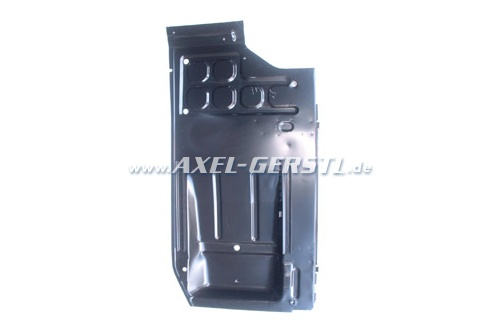 Floor pan, right with seat runners/rails
