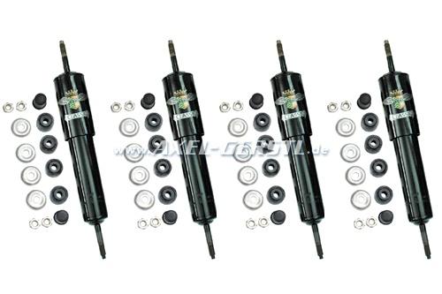 Set of Koni shock absorber (adjustable), front & back
