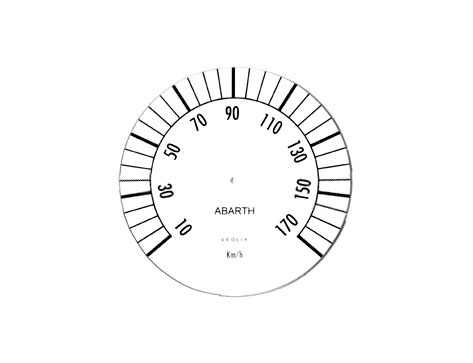 Instrument dial