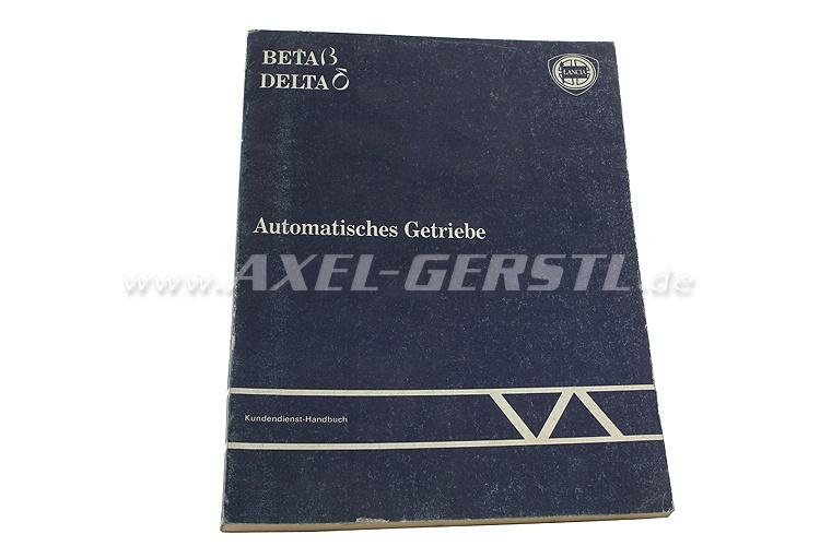 SoPo: Kundendienst-Handbuch Lancia - Automatisches Getriebe