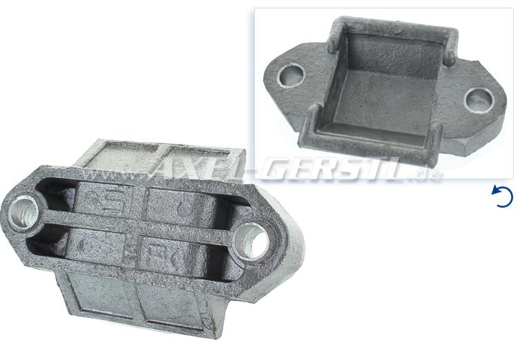 Support de palier du ressort à lames, aluminium