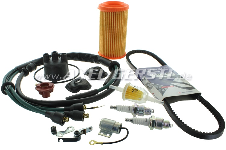 Maintenance kit, large (ignition coil left)