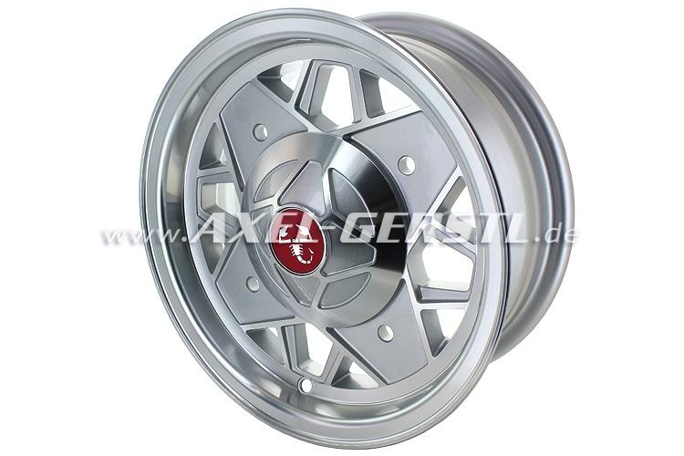 Aluminium rim 5.0 x 12 Maxilite ET 20 polished (w/o bolts)