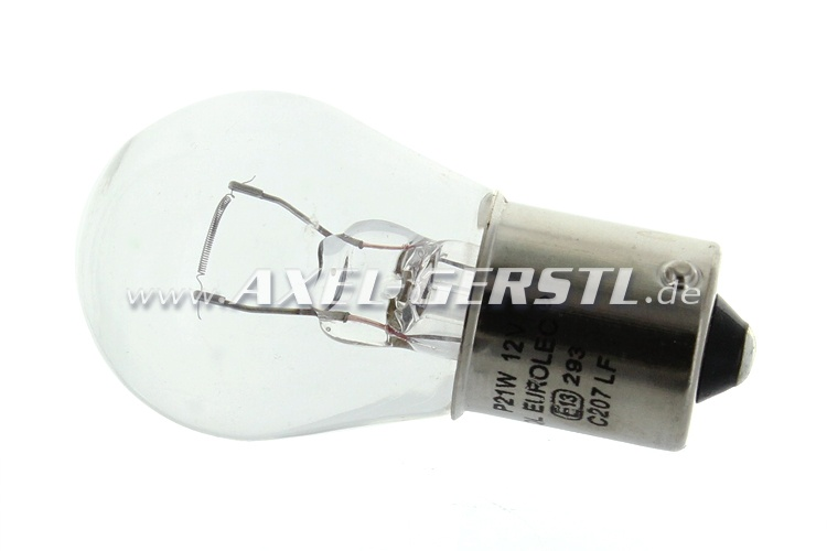 Glühlampe 12V/21W für Blinker, klar