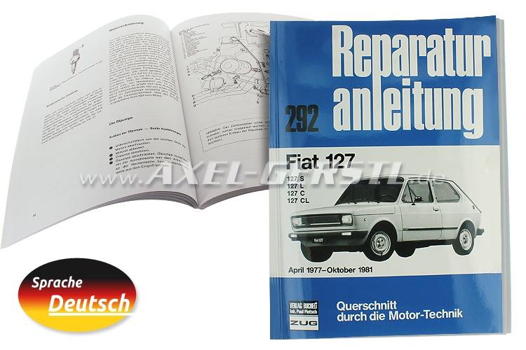 Reparaturanleitung Nr. 292, Orig. Bucheli Verlag, 129 S. A4