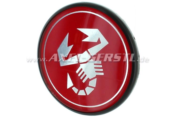 Abarth wheel cover, Scorpion, 42mm/55mm  (rim cover, center)