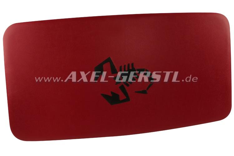 Himmel (Kunstleder bezogen & gepolstert) Skorpion rot/sw.