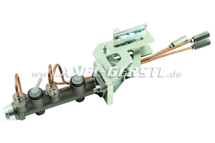 Brake system conversion kit from single to double circuit